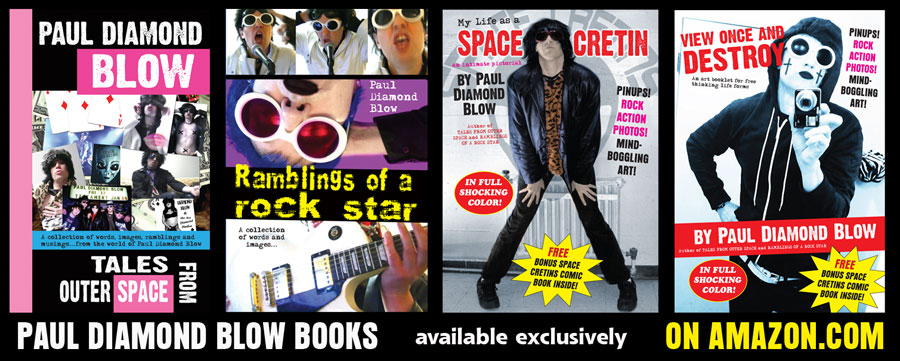 Paul Diamond Blow's new book