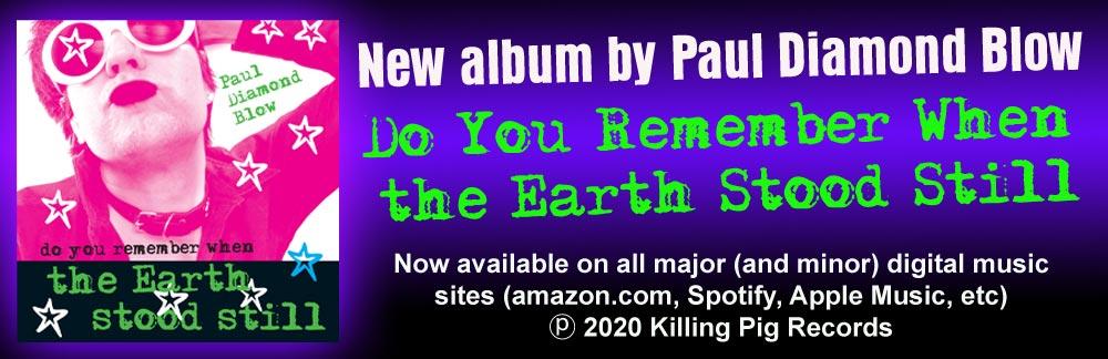 Paul Diamond Blow NEW CD